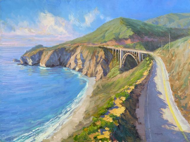 Seascape With Bixby Bridge