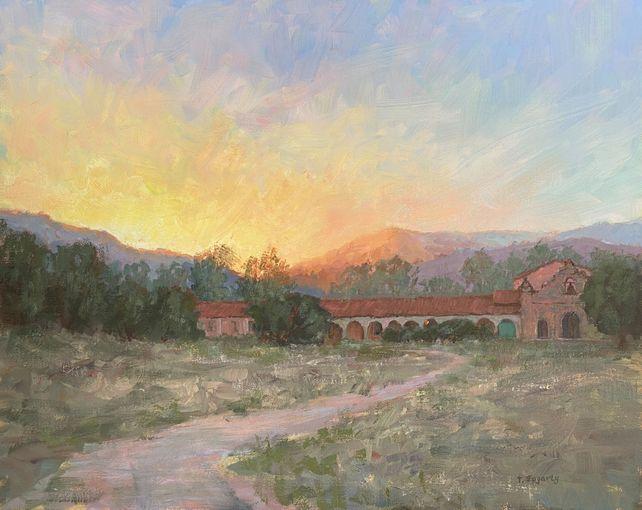 Mission Road Sunset