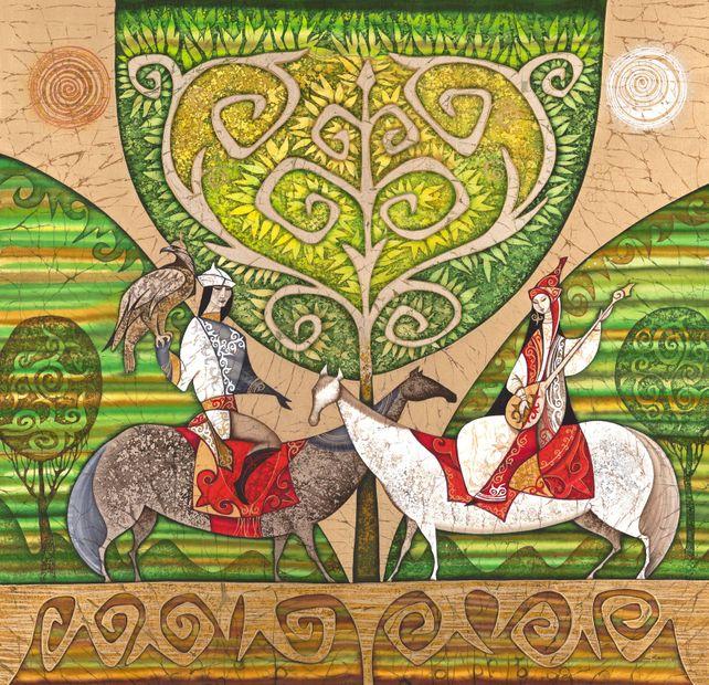 Gün Ana. Calendar of Nomads.