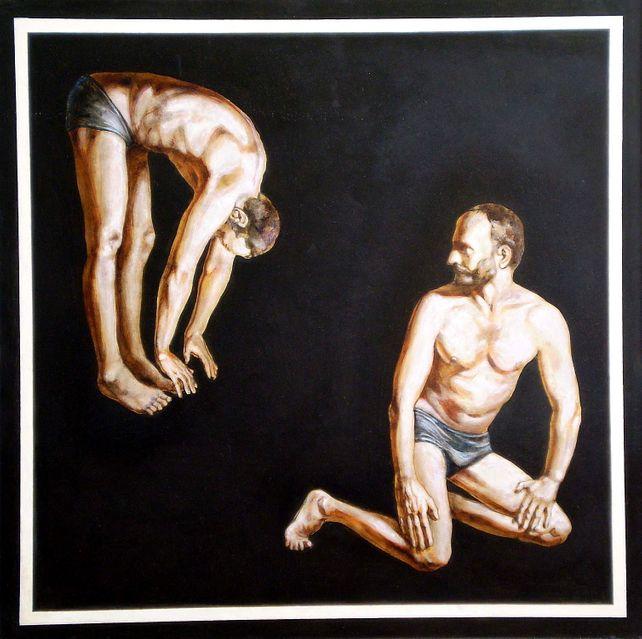 Double portrait-I(awarded,PKF Grant,NY,2003)