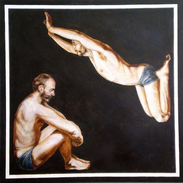 Double portrait-II(awarded,PKF Grant,NY,2003)