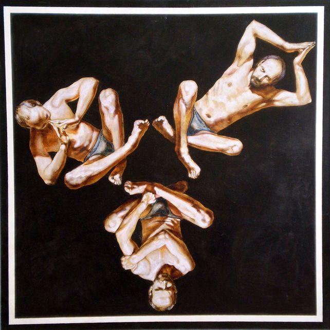 Triple portrait-I(awarded,PKF Grant,NY,2003)
