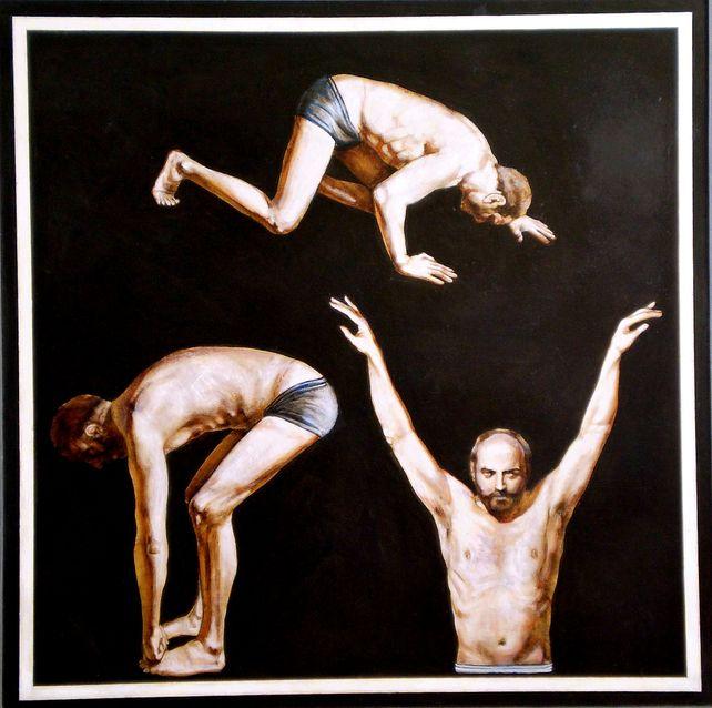 Triple portrait-II(awarded, PKF Grant,NY,2003)