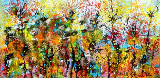 Abstract landscape-XLI