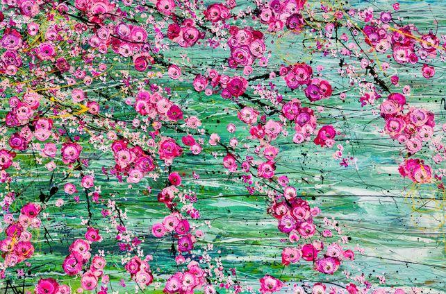 Hanami - Very large painting