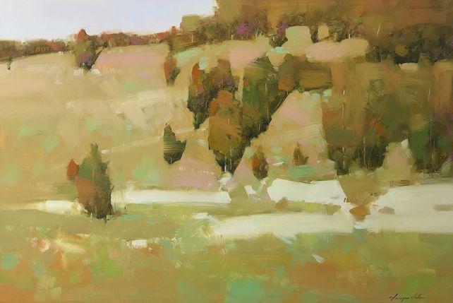 Autumn Palette, Original oil Painting