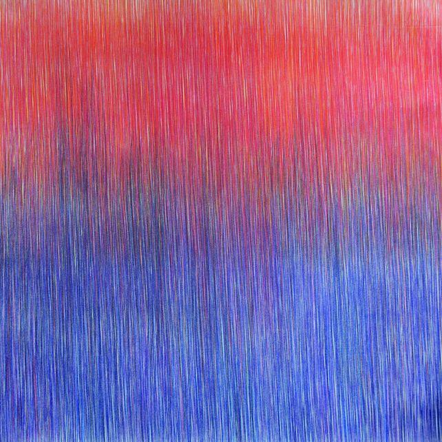 Vertical Rojo y Azul II