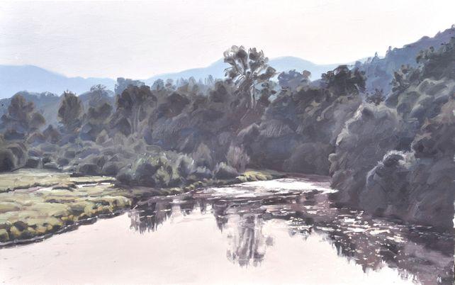 September 13, the Loire river, morning light