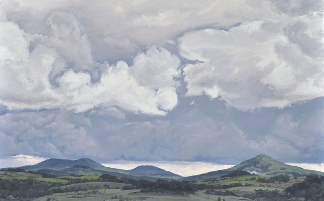 June 6, clouds over the mount Jalore