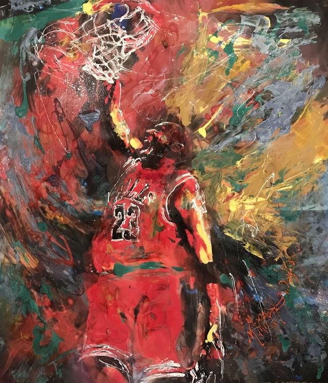 MJ the dunk