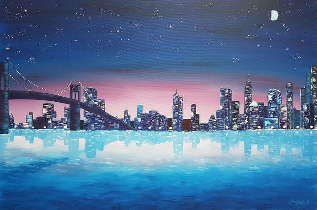 Blue Night Symphony