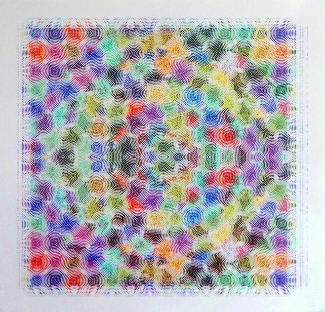 Phosphene (patterned vision)