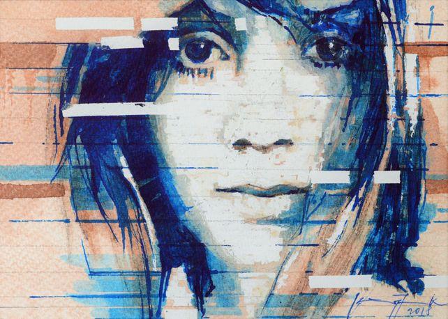 Interpretation I Girl with Big Eyes