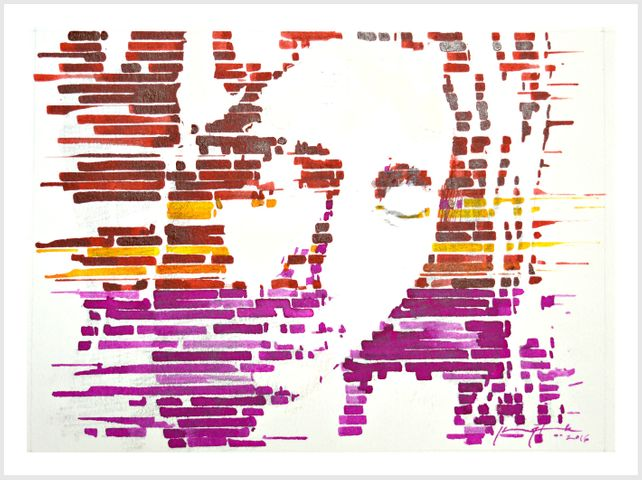 Interpretation   La Pieta [color]