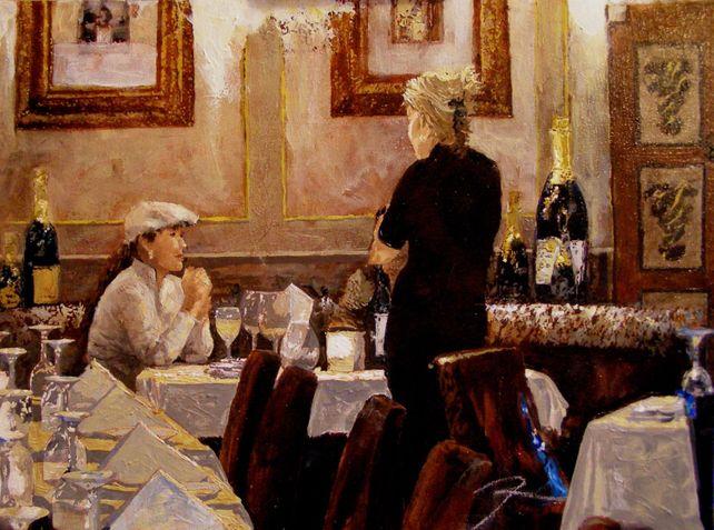 Dinner at Marche Bacchus