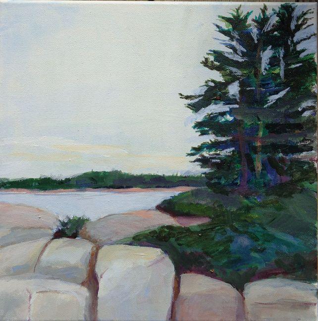 At Turtle Rock, Deer Isle
