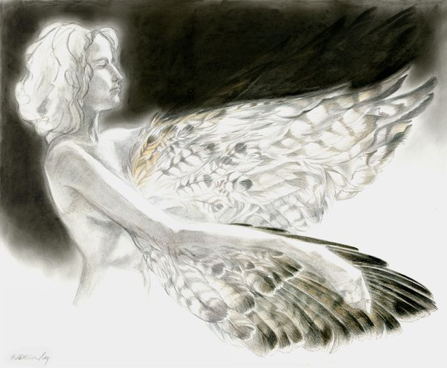 Winged Figure VII