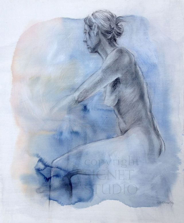 Mist, figure drawing