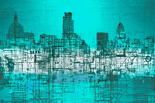 London Logistics Blue