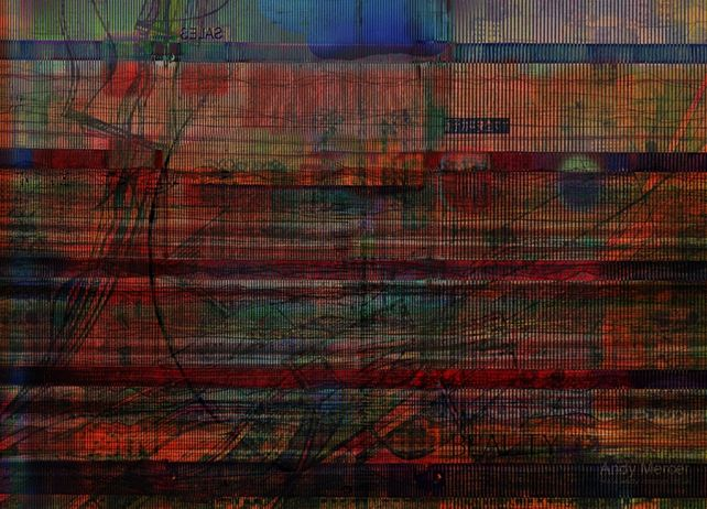 Industrial Abstract 9 (Inferno)