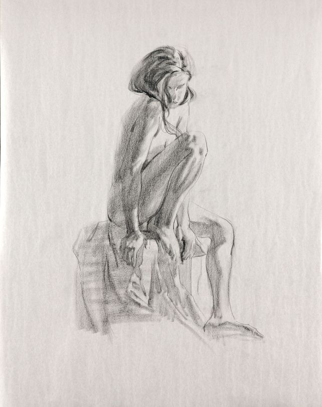 2017031502 Seated Girl