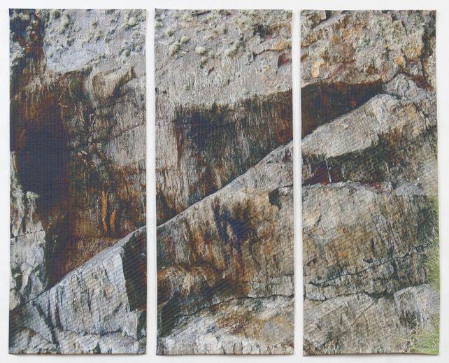 Gray Rock Triptych
