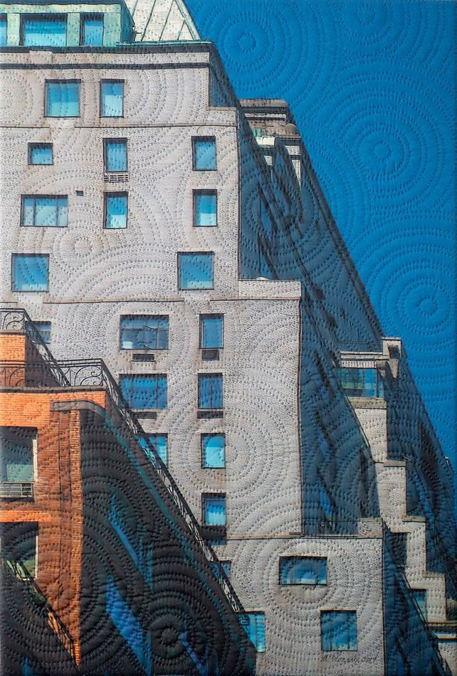 Mannahatta- Gray Building