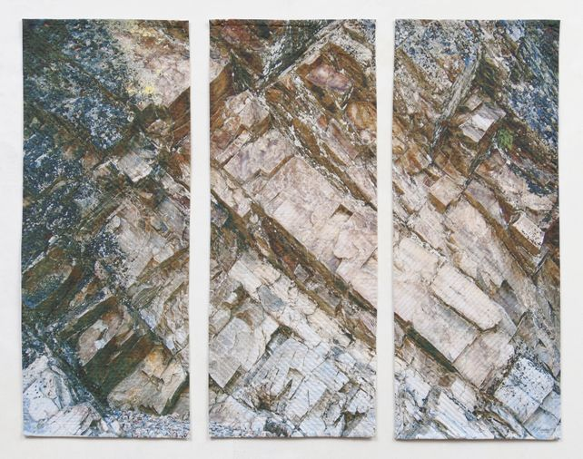 Pink Rock Triptych