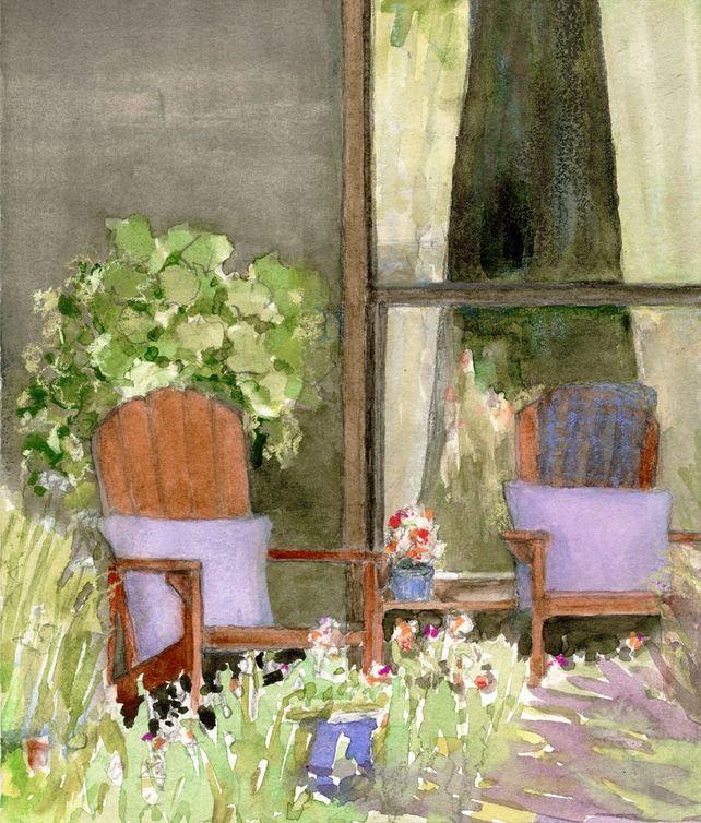 Window & Chairs