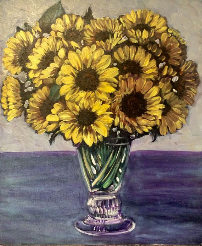 Natasha's Sunflowers