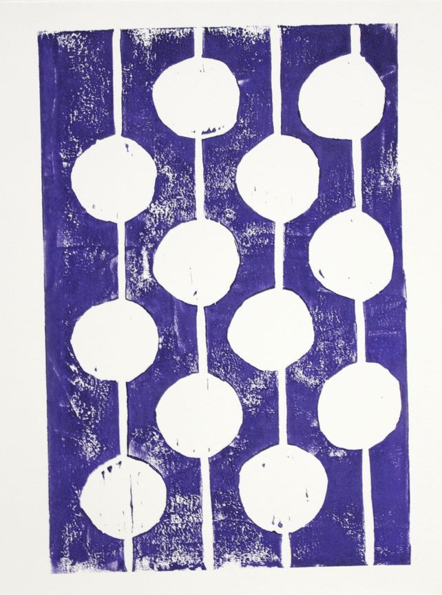 Purple and White Bulbs