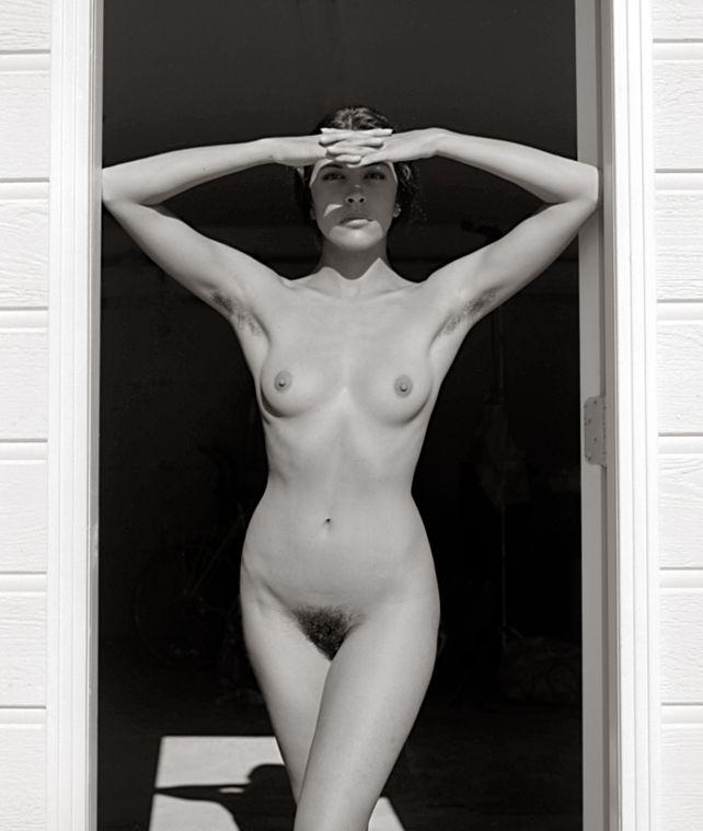 Nude In Doorway