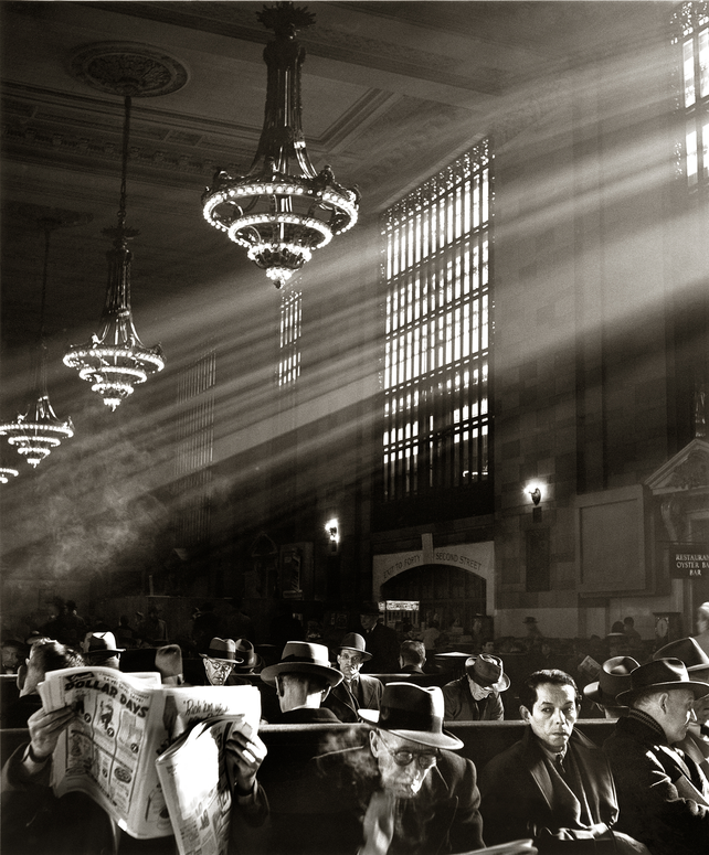 New York Grand Central Station Waiting Room