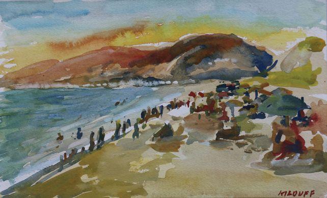 On Zuma Beach number 3