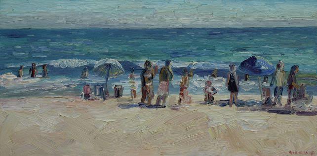 Zuma Beach Bathers