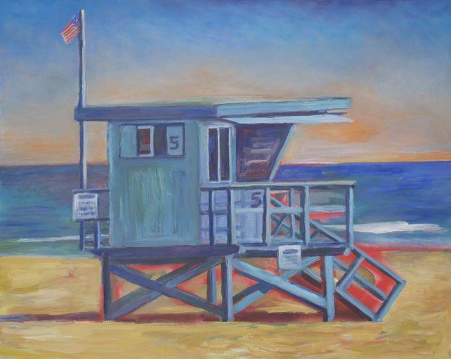 Lifeguard Tower Malibu