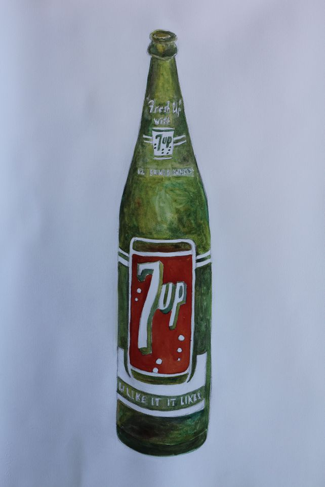 7-up bottle