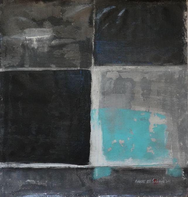 Amaze XXI abstract minimal modern painting