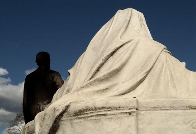 Jefferson Davis Monument Hollywood Cementery Richm