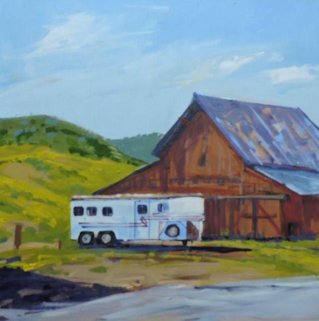 Horse Trailer & Barn