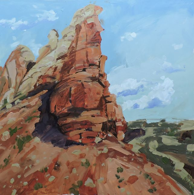 Rock Formation Near Ghost Ranch