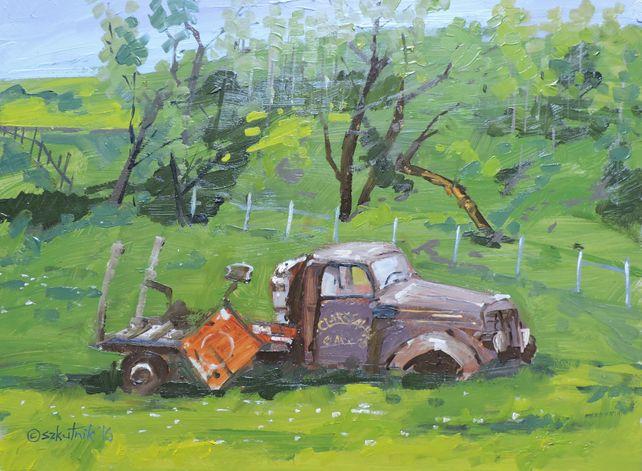 Clark Sawmill Truck