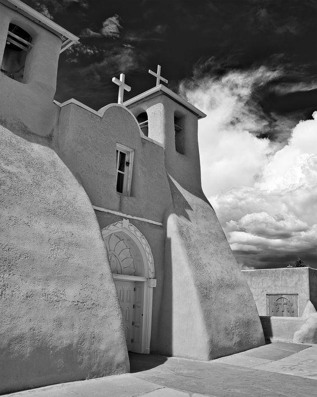 Mission Church -ACRYLIC/METAL PRINT WALL ART