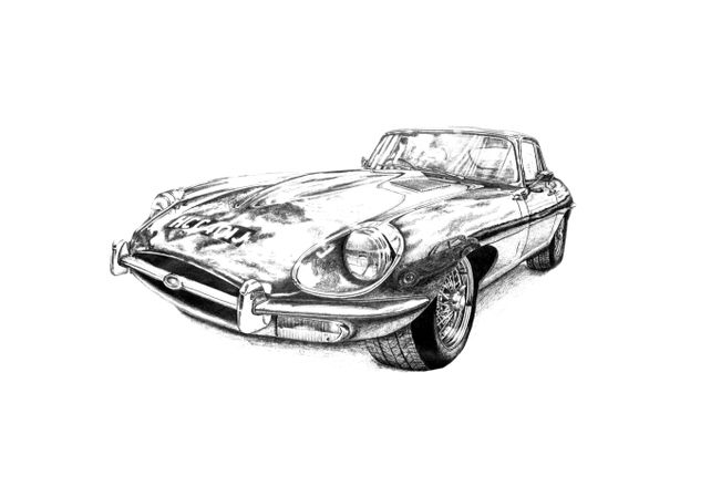 Jaguar E Type S2