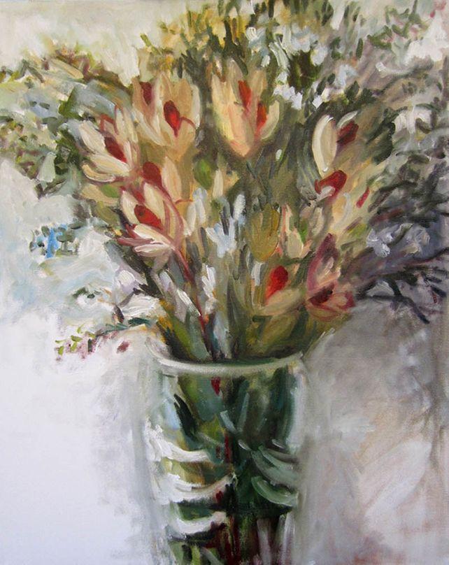 Flame Tips and Australian Wax Flowers