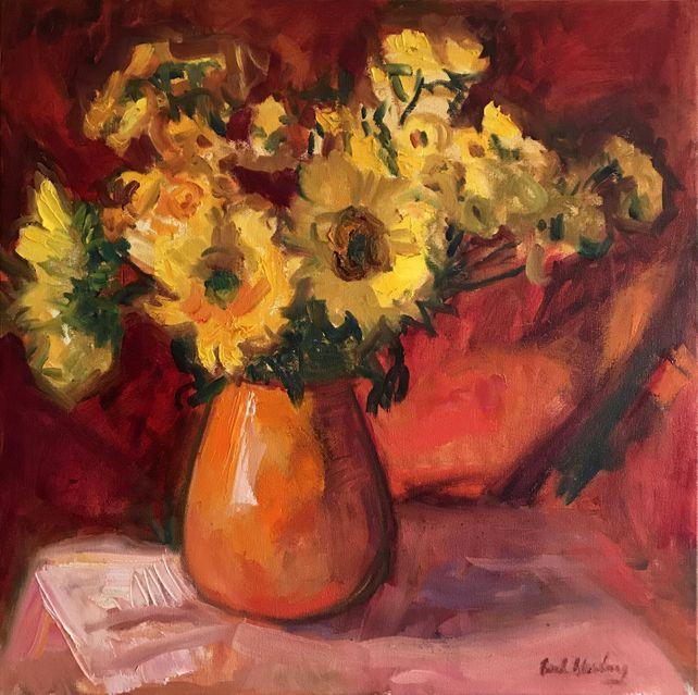 Hot Sunflowers