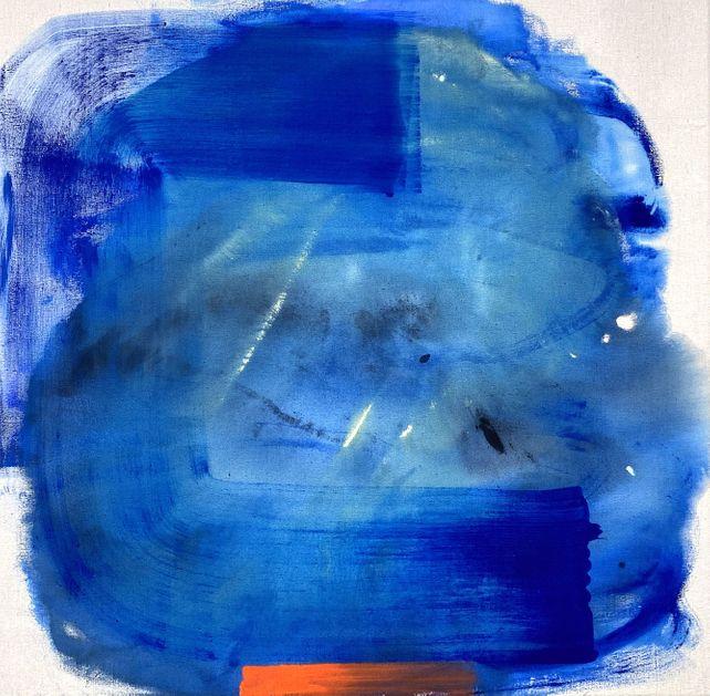 Burned In Blue
