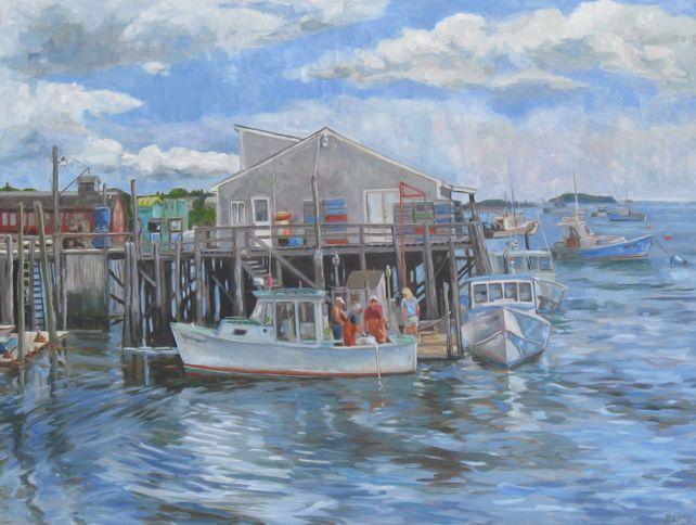 Jonesport Wharf