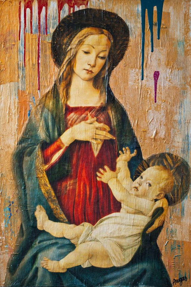 Reclaimed Madonna